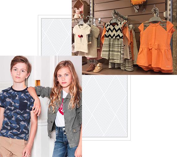 Rayon de la boutique Biloune et Margot à Saint-Rémy -de-Provence (13) : différentes robes pour petite fille proposées